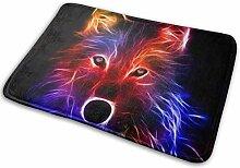JUKA rutschfeste Fußmatten Abstrakter Wolf