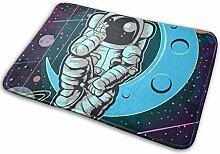 JUKA rutschfeste Fußmatten Astronaut Farbiger
