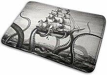 JUKA rutschfeste Fußmatten Kraken Innen- /