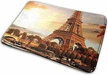 JUKA rutschfeste Fußmatten Paris Eiffelturm