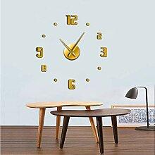 jukunlun DIY Große Wanduhr Modernes Design Quarz