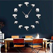 jukunlun Dschungel Tiere Elefant DIY Große