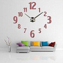jukunlun Neue Wanduhr Quarz Wohnzimmer DIY Uhren