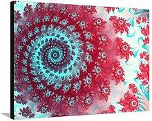 Julia Fractal Leinwand von Laguna Design - 76x102 cm