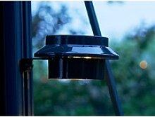Juliana LED Solar-Pflanzenlampe Schwarz für
