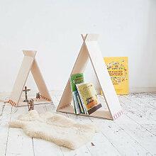 Julica Bücherregal aus Holz ´´Tipikids Set´´