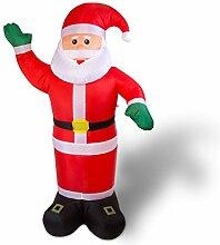 Julido Aufblasbarer Weihnachtsmann - 2,40m groß