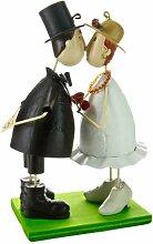 Jullar BIF 812 Brautpaar, Bräutigam hinter Brau