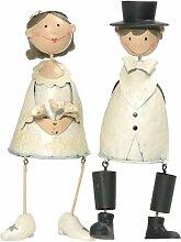 Jullar BIS 1189 Tortenfiguren Brautpaar sitzend