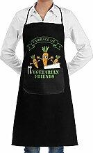 July flower Vegan Vegetarian Aprons Kitchen Chef