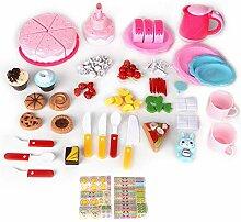 JULYKAI Geburtstagstorte Pretend Play Food Toy