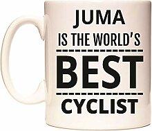JUMA IS THE WORLD'S BEST CYCLIST Becher von