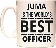 JUMA IS THE WORLD'S BEST OFFICER Becher von