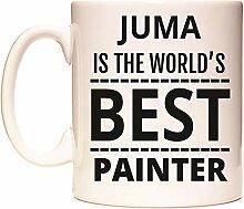 JUMA IS THE WORLD'S BEST PAINTER Becher von