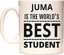 JUMA IS THE WORLD'S BEST STUDENT Becher von