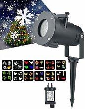 juman634 LED Weihnachten Projektor Lichter