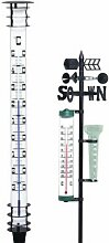 Jumbo-Gartenthermometer 115cm, Kopf und Fuss a.Me