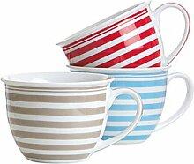 Jumbobecher 'Modern stripes' 3 (1 Stück)
