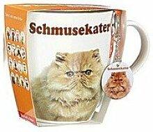 Jumbobecher 'Schmusekater' m. (1 Stück)