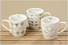 Jumbobecher Hearts 3s 480ml Porzellan