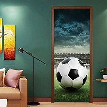 JuMei Door sticker Hd Tür Aufkleber Vinyl Grünes