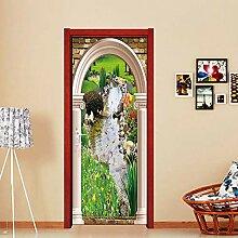 JuMei Door sticker Hd Tür Aufkleber Vinyl