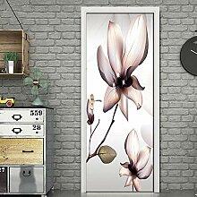 JuMei Door sticker Hd Tür Aufkleber Vinyl Weiße