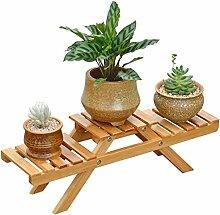 JUN-Blumentreppen Blume/Pflanzenregale/Regal Holz
