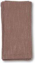 Juna - Basic Stoffservietten 45 x 45 cm, staubrot