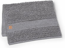 Juna - Check Badematte 100 x 60 cm, grau