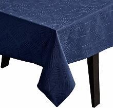 Juna - Lea Tischdecke 150 x 220 cm, vapor blue