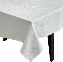 Juna - Lea Tischdecke 150 x 270 cm, weiß