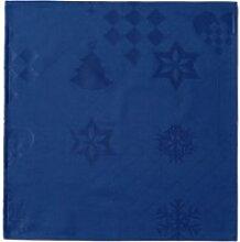 Juna - Natale Stoffservietten, 45 x 45 cm, blau