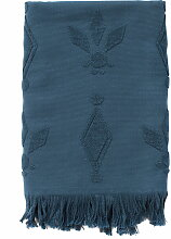 Juna - Pearl Badetuch 70 x 140 cm, blau
