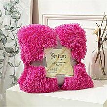 JUNDY Bettdecken Super Soft Werfen Sofa Luft Decke