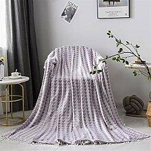 JUNDY Kuscheldecke Flauschige kleine Decke, extra