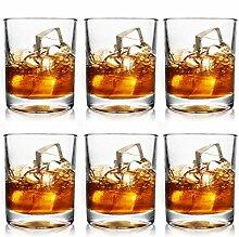 June Fox 6 Sets Whiskeygläser, 325 ml,
