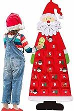 Junean Weihnachts-Adventskalender 2020, Wandbehang
