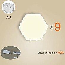 JuneJour DIY Quantum Lampe Hexagon Wandleuchte