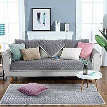 JuneJour Sofabezug Plüsch Anti-rutsch Couch Sofa