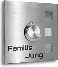 Jung Edelstahl Design® Türklingel Edelstahl 7 X