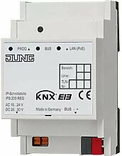 Jung KNX-Modul Kommunikation KNX IP din-2M