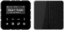 Jung Rad 518 SW Smart Radio-Set Mono Serie CD
