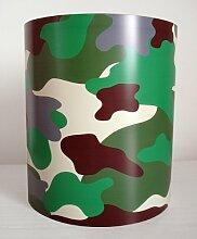 Jungen Camouflage Grün Lampenschirm, Medium