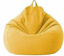 JUNGEN Sitzsack Stühle Sofabezug, Baumwoll Leinen