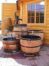 JUNIT 700 Liter Fasskombination mit Schwengelpumpe Weinfass Regentonne