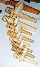 JUNIT Holz-Auslaufhahn für Fass-Regentonne
