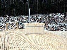 JUNIT VF22001-DELUXE BADEFASS, SAUNATAUCHBECKEN,