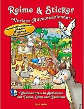 Junker Verlag Sticker-Adventskalender für