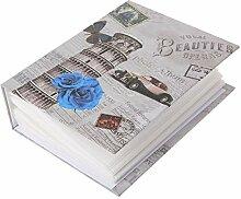 Junlinto 100 Bilder Taschen Foto Album